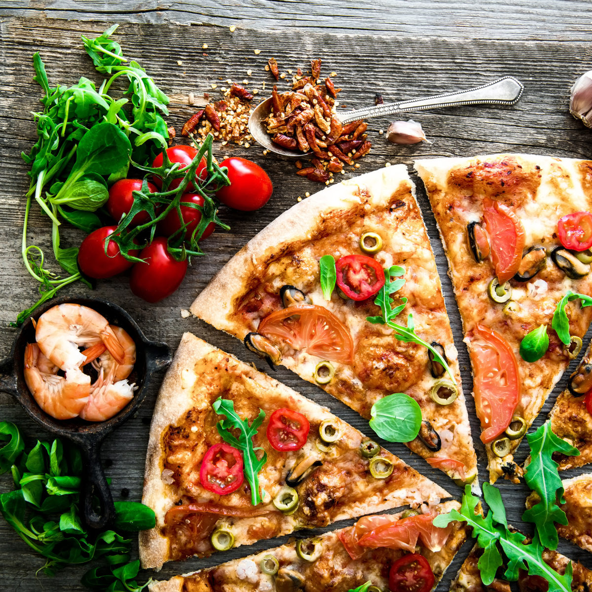 Santa Verena - Pizza