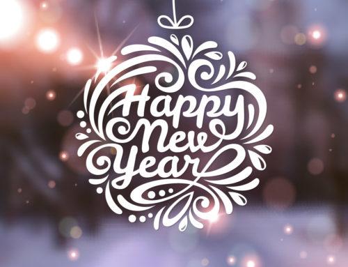 Wir wünschen Ihnen für das neue Jahr nur das Beste!