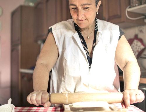 Wie bei «Nonna». Hausgemachte italienische Pasta!