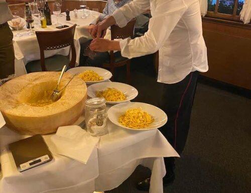 Pasta fresca a tartufo bianco