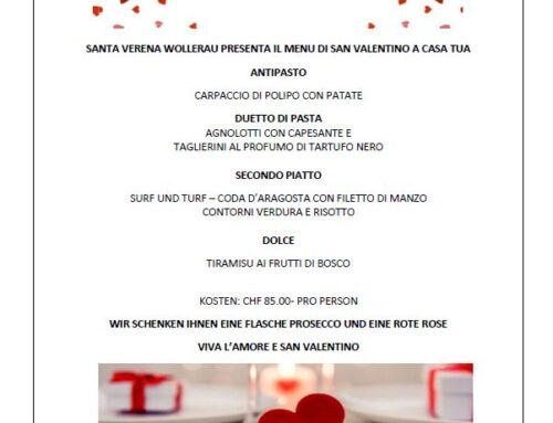 San Valentino a Casa tua